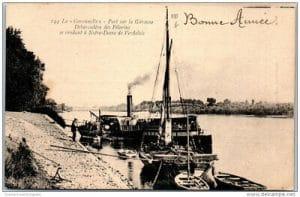 Le débarcadère de la Garonnelle