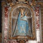 Sainte Vierge de Verdelais - manteau bleu clair